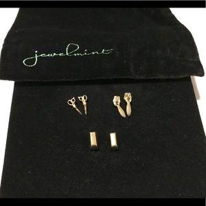 Jewelmint Fashion Jewelry - Scissors, Zipper, Bar